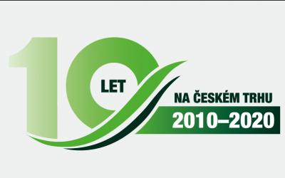 Přední výrobce českých nabíjecích stanic pro elektromobily slaví 10 let od založení.
